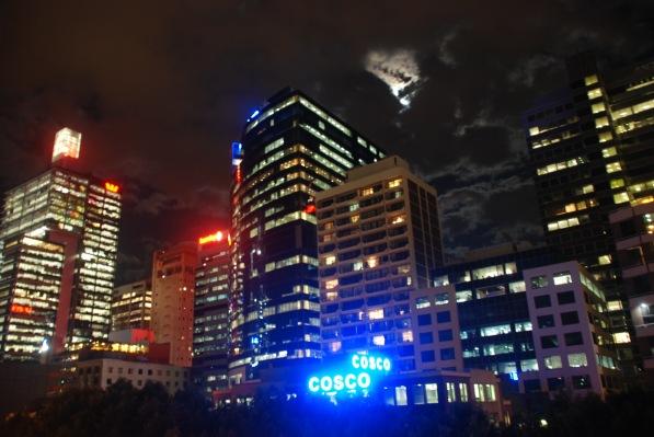 Moon over Sydney