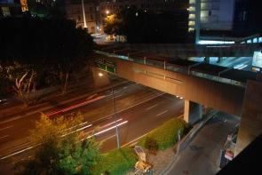 Capturing the car light trails